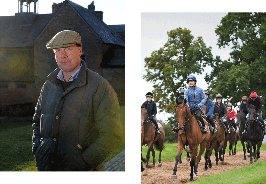 Henry Daly National Hunt Trainer Horse racing